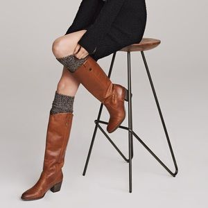 Vince Camuto Kolton Brown Leather Boots